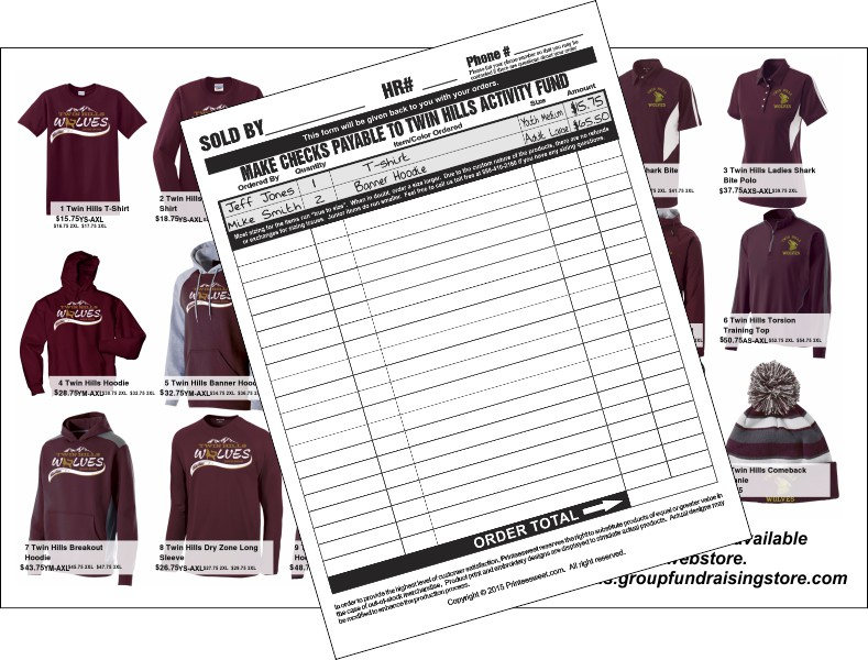 custom sportswear apparel fundraising for schools  team or any group that needs to raise funds